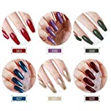 10 Colors Gel Nail Polish Kit with UV Light 24W LED Nail Lamp Top Coat Base Coat Nail Decorations Tools Manicure Starter Kit