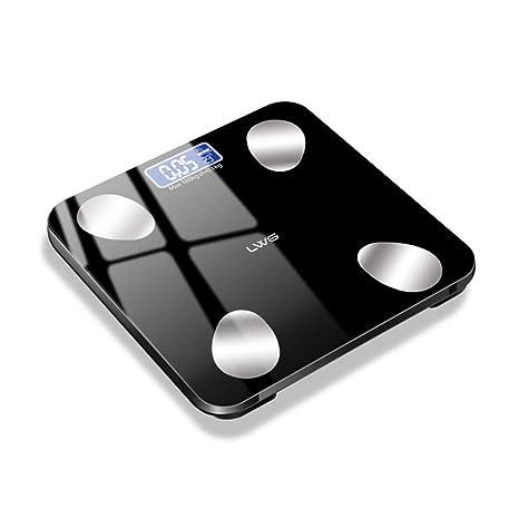 Bathroom Scales Básculas De Baño De Pesaje Digital, Luz De Fondo, Visión Nocturna,
