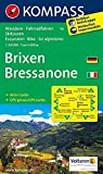 Brixen /Bressanone: Wanderkarte mit Aktiiv Guide, Radrouten und alpinen Skirouten. Dt. /Ital. GPS-genau. 1:50000 (KOMPASS-Wanderkarten, Band 56)