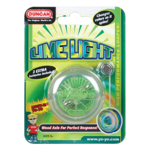 Duncan Lime Light Yo Yo Colors May Vary
