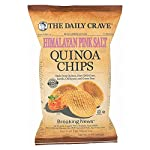 THE DAILY CRAVE, Quinoa Chips, Himalayan Pink Salt, Pack of 8, Size 5 OZ, (Gluten Free Kosher)