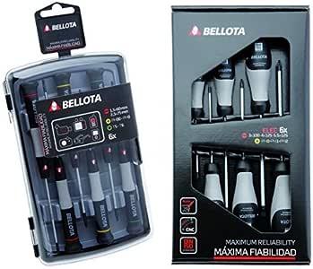Bellota 6250J - Pack de 6 destornilladores de precisión + 66291 ...