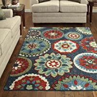 Better Homes and Gardens Bayonne Area Rug Collection (5x7, Blue)