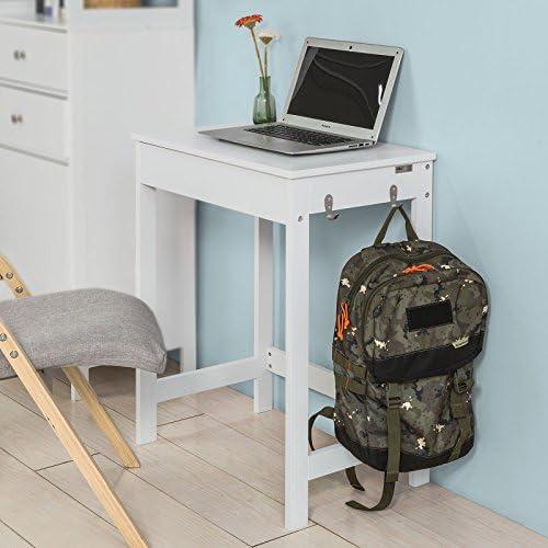 Editors' Choice: Haotian FWT43-W,White Computer Desk Workstation Writing Desk Children Teenagers Desk