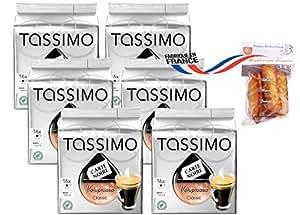 TASSIMO 626146 COLOMBIA CAFE LONG DELICAT (5 packs de 16 T-Discs)
