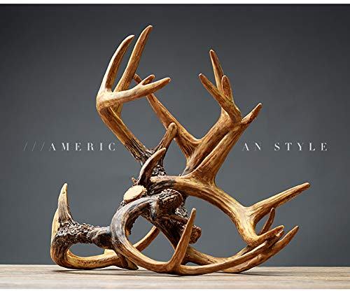Antlers Resin Abstract Art Wine Rack,Decoration Living Room Wine Cooler Modern Crafts Gift ()