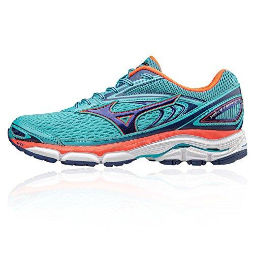 W Inspire Wave Zapatillas Mujer Para Running Mizuno Azul De qgPEn1