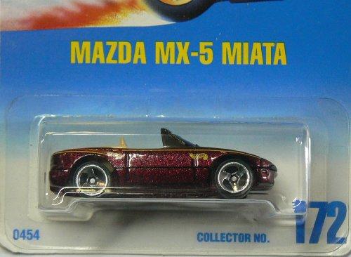 Hot Wheels Mazda MX-5 Miata #172 with 3 Spoke Wheels ()