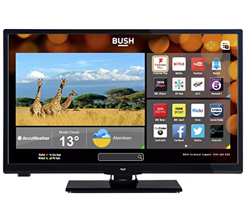 Bush LED24265DVDCNTDFVP 24' Smart Freeview Play LED TV/DVD Combo