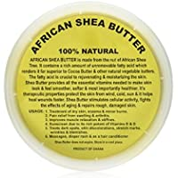 Raw Unrefined Grade A Soft and Smooth African Shea Butter from Ghana - Amazing quality and consistency - comes in a 16…