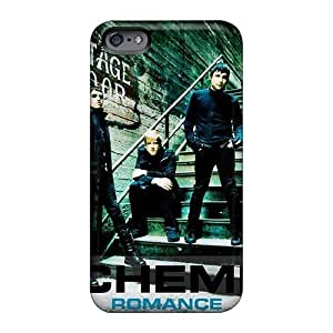 Iphone 6 Hard Back With Bumper Silicone Gel Tpu Case Cover My Chemical Romance Band