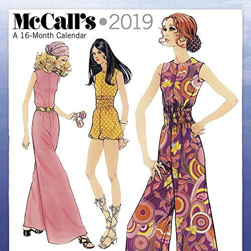 McCalls Patterns 2019 Wall Calendar, Women's Interests by ACCO Brands ()