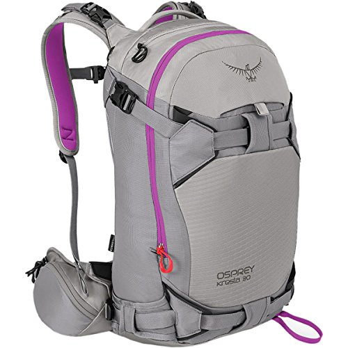 (Osprey Packs Women's Kresta 30 Ski Pack, Twilight Grey, Small/Medium)