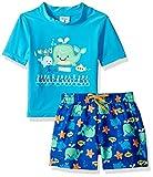 KIKO & MAX Boys' Toddler Swimsuit Set with Short