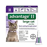 Bayer Advantage II Flea Prevention Large Cats - over 9 lbs - 2 doses