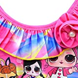 Rohero Toddler Baby Girls Swimsuits Doll Print