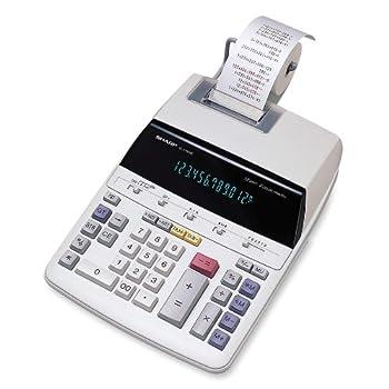 Sharp El2192rii Standard Function Calculator 0
