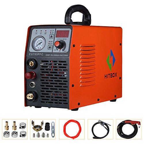 Plasma Cutter 50A 110V 220V Dual Voltage Cuttng Machine Electric PFC DC Inverter Air Plasma Cutting Machine CUT40 50 Metal Cutter 1/2″ Clean Cut