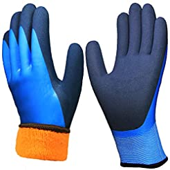 Waterproof Thermal Work Gloves, Superior...