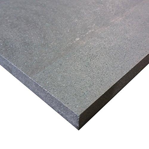 Online Plastic Supply Graphite Plate 1/2'' x 12'' x 12'' (Medium Grain) by Online Plastic Supply