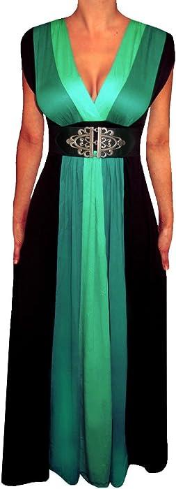 Amazon Funfash Hh09 Plus Size Women Black Slimming Empire Waist