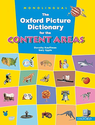 The Oxford Picture Dictionary for the Content Areas (Monolingual English Edition)