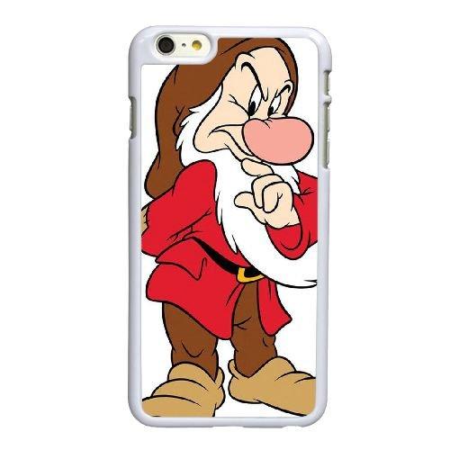 Disney Schneewittchen und die sieben Zwerge Character Grumpy 001 iPhone 6 6S plus 5,5 Zoll-Handy-Fall hülle weiß F7P8DSNXND