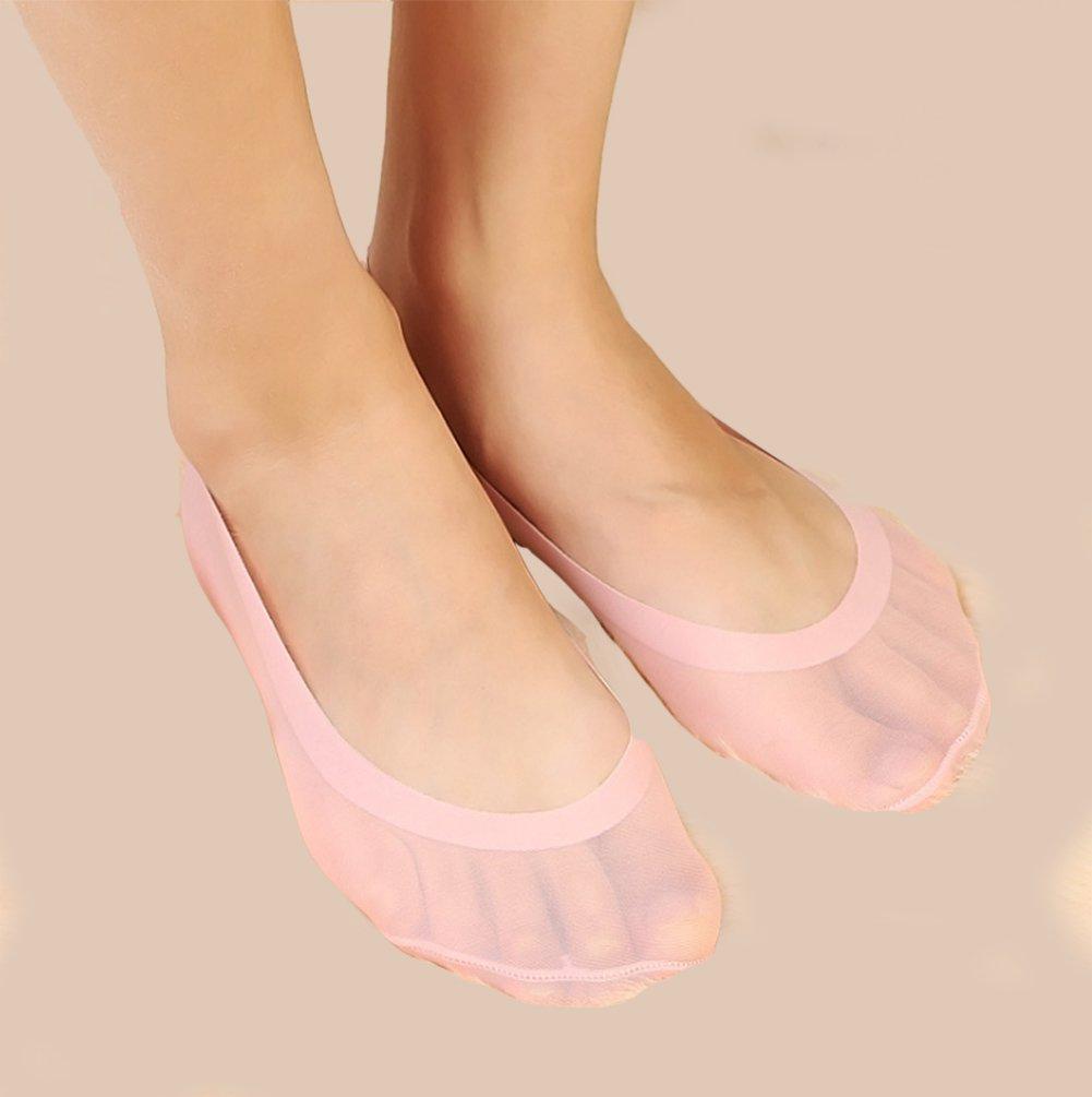 Gauss Kevin Thin Ice Silk No Show Low Cut Liner Socks Women Elastic Nylon Summer Sock Non Slip by Gauss Kevin (Image #9)