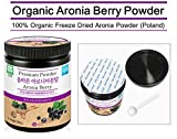 ARIO 100 Organic Aronia Berry Extract Powder Poland - Chokeberry Powder 35 oz 100 g Freeze Dried Immunity Circulation Antioxidants Anti-Inflammatory Supplements Discount