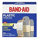 Band-Aid Comfort-Flex Assorted Strips Bandage Family Pack (Packaging May vary)