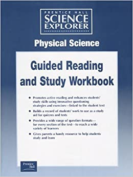 Printables Prentice Hall Physical Science Worksheets amazon com science explorer physcial guided study worksheets 2001c
