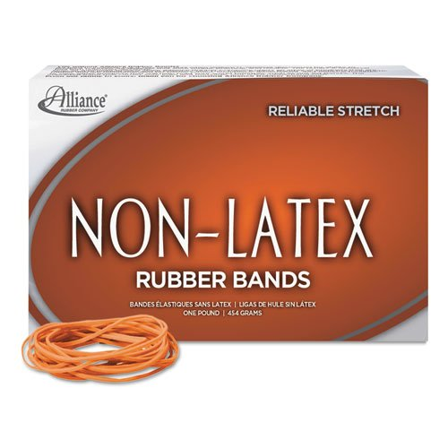 Rubber Bands, Latex-free,3-1/2