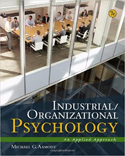 Amazon Industrial Organizational Psychology An Applied