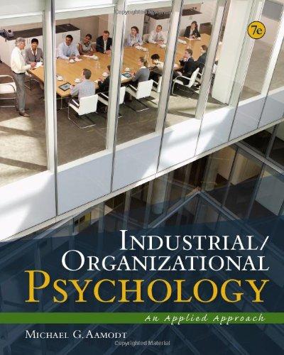 IndustrialOrganizational Psychology An Applied Approach