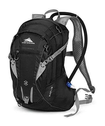 High Sierra Marlin Hydration Pack Black/Silver 18-Liter [並行輸入品] B075K4R62S