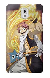 S1732 Fairy Tail Natsu Happy Case Cover For Samsung Galaxy Note 3