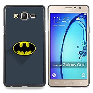 """Qstar Arte & diseño plástico duro Fundas Cover Cubre Hard Case Cover para Samsung Galaxy On7 O7 (Logotipo de la obra clásica del palo"""")"""