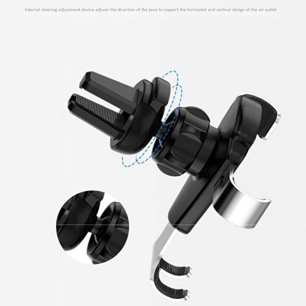 etc. Suzuki gravity phone holder Car phone holder Car phone holder P20 mobile phone holder vent 360/° rotation for Xs MAX//XS//XR//X // 8s // 8//7//6 Plus Color : D Galaxy S9 // S8 // S7