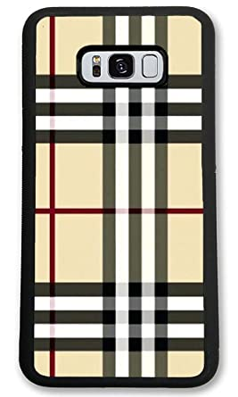 Amazon Com Custom Samsung Galaxy S8 Cases Wallpaper Plaid Hard