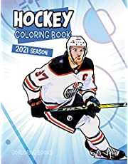 Hockey coloring book: NHL coloring book with all the teams and the greatest players