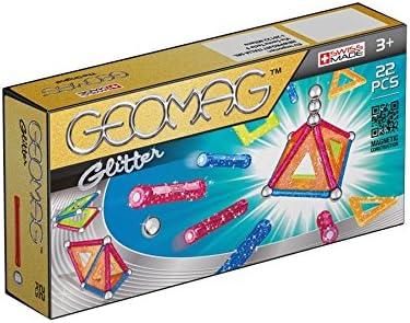 Geomag 530 - Glitter, Baukästen, 22-teilig