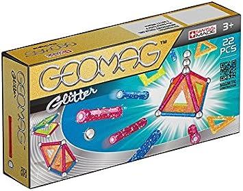 Geomag- Classic Glitter Construcciones magnéticas y juegos educativos, Multicolor, 22 piezas (530) , color/modelo surtido: Amazon.es: Juguetes y juegos