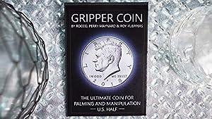 MJM Gripper Coin (Single/U.S. 50) by Rocco Silano - Trick
