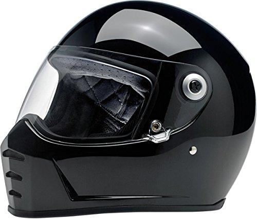 Biltwell Lane Splitter Solid Full-face Motorcycle Helmet - Gloss Black/Medium