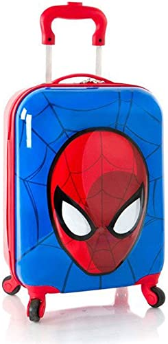 Marvel Spiderman 3D Pop Up Boys 18 Hardside Spinner Carry On Luggage Multicolor