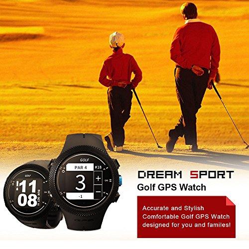 dreamsport Golf GPS Watch DGF301 new generation (Black) by dreamsport (Image #4)