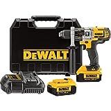 DEWALT DCD985M2 20V MAX* 4.0 Ah Lithium Ion Premium 3-Speed Hammerdrill Kit