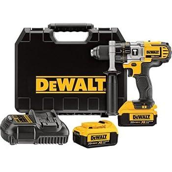 DEWALT DCD785C2 20V MAX Lithium Ion Compact 1.5 Ah Hammer Drill ...