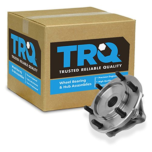 TRQ Front Wheel Hub Bearing Assembly Driver Passenger for Tacoma 4Runner FJ 4WD