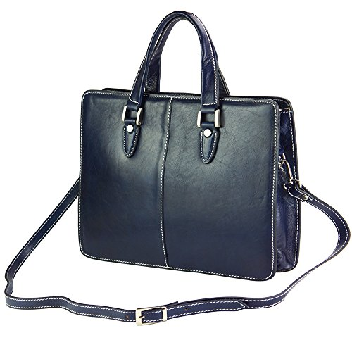 Leather Dark Becerro 7629 Urban Blue Handbag Rolando a5wHqg
